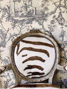 Zebra + Toile