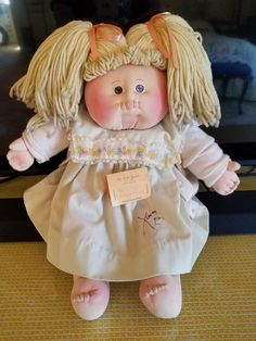 Xavier Roberts, Cabbage Patch Kids Dolls, Cabbages, Barbie Stuff, General Hospital, Soft Sculpture, Little People, Softies, Inspired