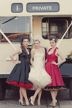 Vintage 50s Wedding Theme | ... out as both our businesses have a vintage style, so it made sense