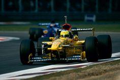 1997 GP Włoch (Monza) Jordan 197 - Peugeot (Giancarlo Fisichella)