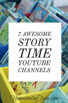 story time youtube channels - Homeschooling Today Magazine