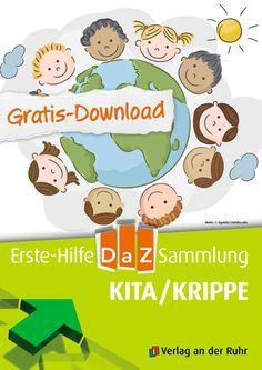 Wir freuen uns, dass unser Gratis-Download #DaZ (Deutsch als Zweitsprache) so gut angekommen ist! Wir haben jetzt noch eine Datei hinzugefügt: Ab jetzt können Sie auch Materialien für die ganz Kleinen kostenlos herunterladen. Sogar zwei Lieder im MP3-Format sind dabei. Schließlich stehen auch die Kitas und Krippen vor einer besonderen Herausforderung und auch hier möchten wir gerne helfen.   #Gratis #Download #Kopiervorlagen #Kita #Krippe #Freebie