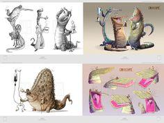 Character Designs by Torsten Schrank