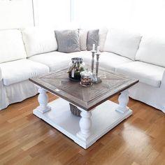 Rent delikat og utrolig vakkert hos @fruerlandsensinterior  Salongbord: Dubai 90x90 fra #classicliving  #nordiskehjem#skandinaviskehjem#interior#interiør#shabyyhomes#instahome#interiør123#stue##livingroom#vakrerom#norge#norway#myhome#dream_interiors#finehjem#finahem#interior4you1#norskehjem#interior125#classicliving#bubaisalongbord90almhvit#sofabord#salongbord#ninterior