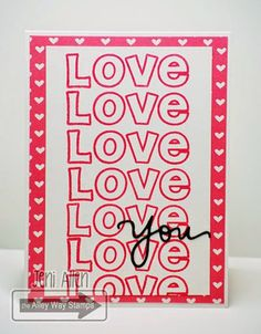 My Stampin' Spot, The Alley Way Stamps, TAWS, cards, clear stamps