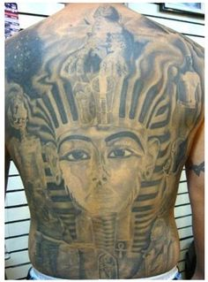 The Pharaoh Egyptian Tattoos
