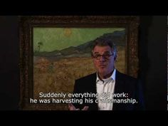 """""""It's the joy of the moment when he could paint again. That makes it such a moving picture"""".  Actor and painter Jeroen Krabbé talks about Van Gogh's 'Wheatfield with reaper'.      This painting is part of the exhibition 'Dreams of nature. Symbolism from Van Gogh to Kandinsky', on view until 17 June at the Van Gogh Museum Amsterdam. http://www.vangoghmuseum.com/dreamsofnature"""