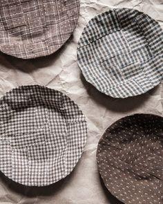 DIY Fabric Mâché Plates