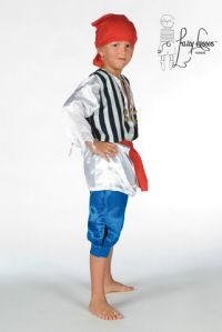 Fairy Kisses - Jolly Pirate Costume: Sizes S (4-5), M (6-7), L (8-9). $47.99