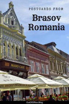 Postcards from Brasov Romania