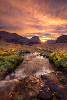 Glacier National Park, Montana, by Exploring Light Photography