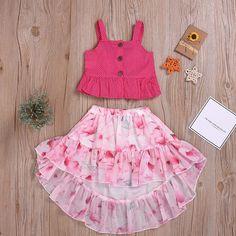More than 30 kids wear girls summer floral dresses Frocks For Girls, Kids Outfits Girls, Toddler Girl Dresses, Summer Dresses For Girls, Baby Girl Frocks, Baby Girl Skirts, Dress Summer, Toddler Outfits, Toddler Girls