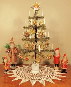 Martha Stewart uses them, collectors of antique Christmas love them, and they were some of the original artificial trees made, so why not try one in your home.