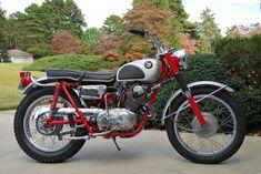 1962 Honda CL 250 Scrambler - Gentlemans Choice Motorcycles