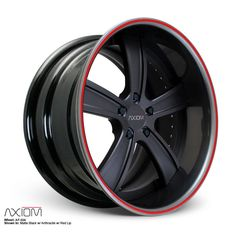 The AF-504 5-spoke star 3-piece forged wheel design for Performance Exotic & Domestic Cars:Porsche,Mercedes,BMW,Ferrari,Range Rover,Ford,Chevy,Dodge,GTR
