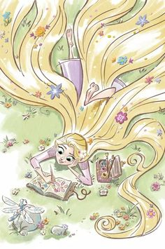 #Rapunzel #Disney #Art