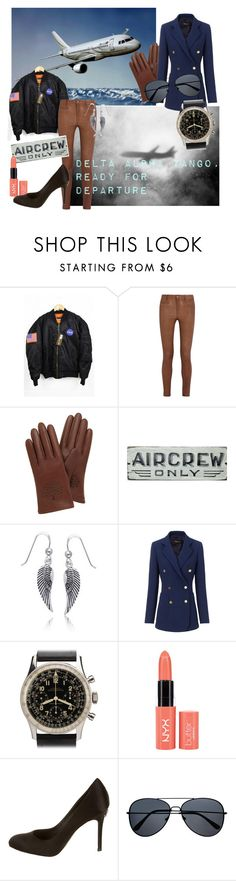 """""""Pilots sans penis"""" by catherine-grace ❤ liked on Polyvore featuring M.i.h Jeans, Mulberry, Bling Jewelry, Derek Lam, Breitling and Chanel"""