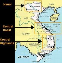 Image Result For Map Of Central Highlands Vietnam B3 Front The