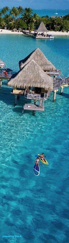Bora Bora, French Polynesia. - WorkLAD - Lad Banter Funny LAD Pics