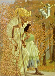 Illustration by Leo and Diane Dillon, from Virginia Hamilton: Her Stories (African American Folktales, Fairy Tales and True Tales)   Good Blanche, Bad Rose, and The Talking Eggs