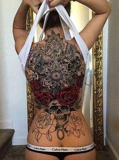 20 Amazing Back Tattoos for Women - - 20 Am. - 20 Amazing Back Tattoos for Women – – 20 Amazing Back Tatt - Creative Tattoos, Great Tattoos, Sexy Tattoos, Unique Tattoos, Beautiful Tattoos, Body Art Tattoos, Tattoo Girls, Tattoo You, Girl Tattoos