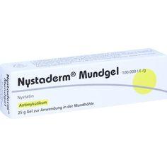 NYSTADERM Mundgel:   Packungsinhalt: 25 g Gel PZN: 03560917 Hersteller: DERMAPHARM AG Preis: 3,65 EUR inkl. 19 % MwSt. zzgl.…