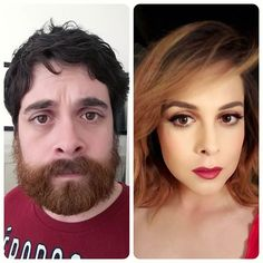 women before and after Transgender