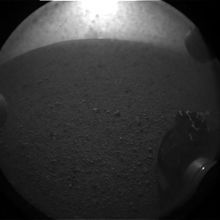 Mars Science Laboratory - first image from Mars!