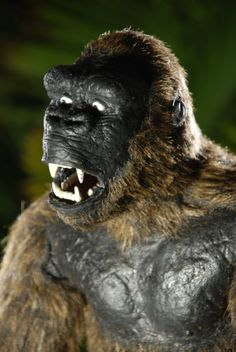 My King Kong Puppet Replica - StopMotionAnimation.com, posted by fantamation