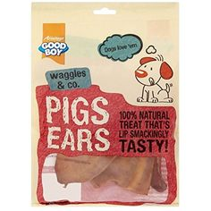 Armitage Good Boy Pigs Ears (4 per pack - 60g) ~~ You can click image for more details. (This is an affiliate link and I receive a commission for the sales)