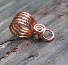 Handmade Copper Bails VI PurpleLily Designs by PurpleLilyDesigns, $7.00