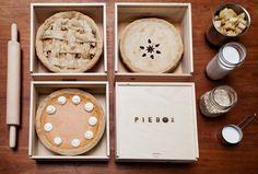 PieBox Wooden Pie Carrier von PIEBOX auf Etsy