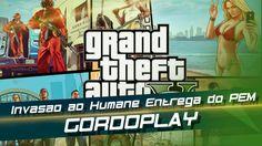 GTA V -   Invasao ao Humane   Entrega do PEM  - Gordoplay