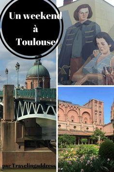 Découvrir Toulouse, ses musées, la Garonne, ses cafés sympas et son street art au rythme d'un weekend de printemps. La ville rose livre ses secrets ...