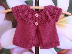 Best 12 Ravelry: Project Gallery for Mini Chic pattern by Katie White Knitting For Kids, Baby Knitting Patterns, Crochet For Kids, Baby Patterns, Crochet Baby, Hand Knitting, Knit Crochet, Knitting Ideas, Knitted Baby Cardigan