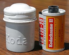 Kodak Film Canisters Made of Aluminum