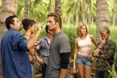 """Almost every scene was shot on location in Oahu. 