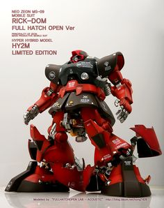 [HY2M] MS-09RS RICK-DOM FULL HATCH OPEN VER