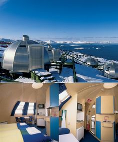 Igloo_huts, hotel Arctic-Ilulissat, Greenland .. I can endure this easily, easier than filthy urban winter ^_^