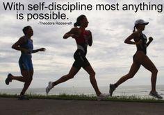 self discipline.
