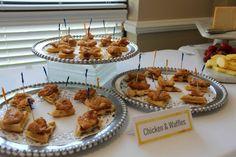 Chicken and Waffles. @athenscctx #brunch #chickenandwaffles #invitationsandparties