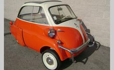 1958 BMW Isetta - there was one of these in my neighbor hood back in the early 60's