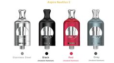 Aspire Nautilus 2 Tank in the UK. Get Now The Aspire Nautilus 2 Tank is an upgraded version of the internationally popular Aspire Nautilus Tank in UK. Nautilus, Vodka Bottle, Water Bottle, Exo, Vaping Devices, Vape Tricks, Vape Shop, Red And Grey, Consumer Electronics