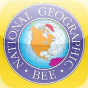 GeoBee Challenge HD by National Geographic - This is a challenging game, so it's not for beginners...but do keep in mind that the National Geographic Bee is meant for kids in grades 4-8. Are you smarter than a 4th grader? If you need help studying, you should check out the National Geographic World Atlas HD app, also available on iTunes.