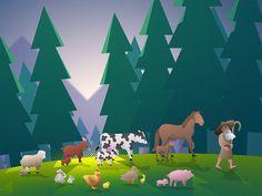 """10 """"Μου αρέσει!"""", 1 σχόλια - Van Winkle Studo (@van_winkle_studio) στο Instagram: """"Introducing, Hank the Herdsman! In honor of our 3rd year anniversary since our 1st app release, we…"""""""