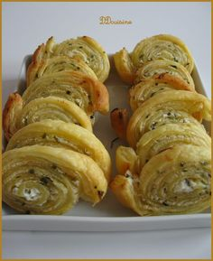 Goat Cheese and Chives in Puff Pastry - warning French food blog