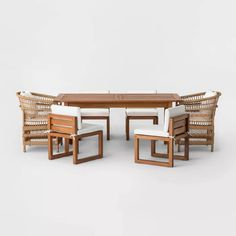 Kaufmann 7pc Mix & Match Patio Dining Set - Project 62™ : Target