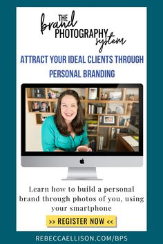 Get ready to learn how to attract clients that are ready to work with you. The Brand Photography System will teach you how to build a personal brand by creating consistent and cohesive photos with your smartphone. Allowing you to attract clients who get who you are, what you have to offer and are exited to work with you!. Sign up and register now! #brandingphotography #personalbranding #smartphonephotography