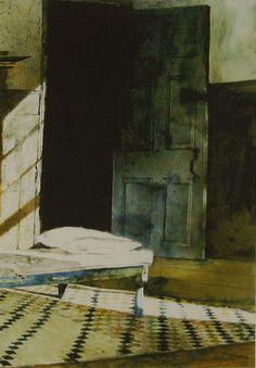 "invisiblestories: "" Andrew Wyeth, Harlequin (detail) (via yama-bato) """