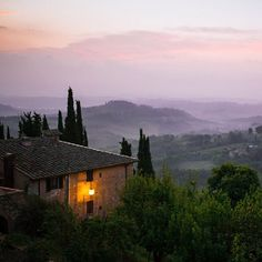 #Tuscany #dawn #Landscapes #Nature - Dollar Stock Images - http://kozzi.tv/TXf3W